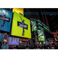 Buy cheap P10 Full Color Outdoor LED Billboard Fixed Installation LED Display for Advertising product