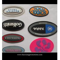 Buy cheap factory new product custom garment label silicone garment badge/rubber patch product