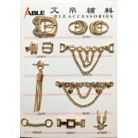 Custom Factory Price Nickle Free Metal Zinc Alloy Shoe Chain Buckle For Men for sale