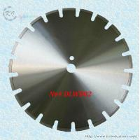 Buy cheap Laser Welded Diamond Saw Blade for Cutting Asphalt and Green Concrete - DLWB02 (U slot) product