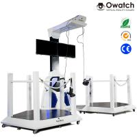 China VR Walking space platform 9d virtual shooting simulator for double players on sale