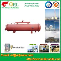 Buy cheap 300 Ton Ionic Pressure Drum / Stability Low Pressure Boiler Drum ORL Power product