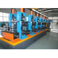 Buy cheap Steel ERW Straight Seam Pipe Production Line / Welded Tube Mill product