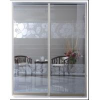 Buy cheap CY-LG106A Custom Glass Metal Room Dividers, Aluminum Frame Bypass Sliding Door Factory For Bedroom product