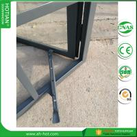 Quality casement crank window handle steel casement windows with double tempered glass for sale