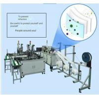 Buy cheap 220V Face Mask Production Line , Disposable Face Mask Manufacturing Machine product