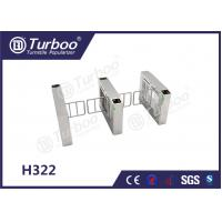 Buy cheap Access Control Pedestrian Barrier Gate With Voice And Strobe Light Alerts product