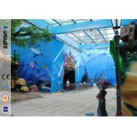 China Amusement Hydraulic / Electric System 4d Cinema With Digital Video Projector System on sale