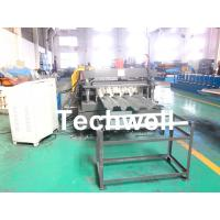 Buy cheap 10-12m/min Forming Speed Metal Deck Flooring System Floor Decking Roll Forming Machine With 22KW Motor Power product