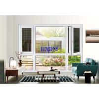 Buy cheap Toughened Glass Pvc Double Glazed Windows Reinforced With Lined Steel product