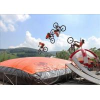Buy cheap Customized Big Trampoline Park Inflatable Foam Pit Freefall Air Bag from wholesalers