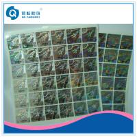Buy cheap 3D Rainbow Custom Hologram Stickers On A Roll For Tobacco / Electronic product