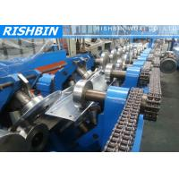 Full Automatic Integrate C Z Purlin Roll Forming Machinery With GCr 15 for PEB