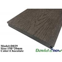 Buy cheap Composite Decking Floor Outdoor Swimming Pool Hollow WPC Decking from wholesalers