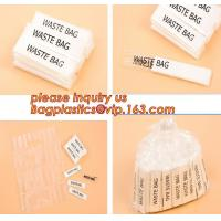 Buy cheap Individually Packed Waste Bags, Single Folded bag, individual packed bag, individually fold bags, waste bags, clinicial product