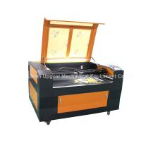 Buy cheap Batch Precision Fabric Embroidery logo Co2 Laser Cutting Machine with CCD Camera product