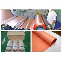 Buy cheap Rolled Copper Foil For Conductive Tape , Custom Inner Diameter Copper Foil Sheet Roll product