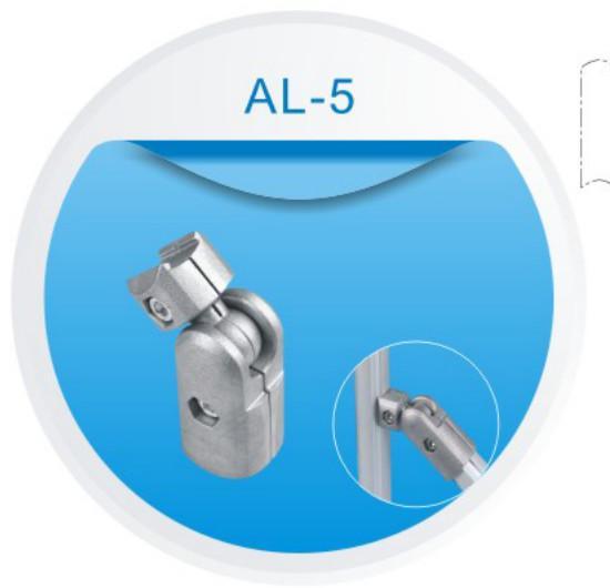 Adc aluminum tubing joints connector aluminium