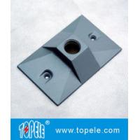 Buy cheap Three Holes Electrical Weatherproof Rectangular Covers Aluminum Gaskets & Screws product