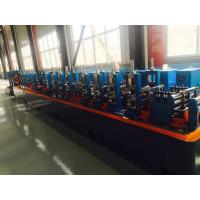 Buy cheap Galvanised Steel ERW Pipe Mill Line Blue Color Energy Saving 120m / Min Running Speed product