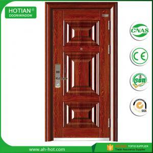 Buy cheap Stainless Steel Swing Door, Residential House Entrance Steel Doors product
