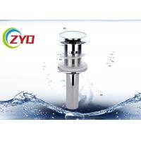 Buy cheap Faucet Pop Up Sink Drain Pipe 0 - 90℃ Working Temperature High Precision Thread product