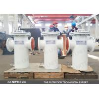 Buy cheap Industry bucket Pipeline Strainer  filter for water treatment pre filtration product