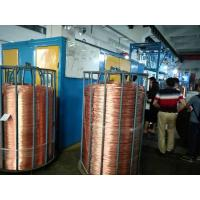 Buy cheap Metal Melting Furnace Continuous Wire Drawing Machine Copper Rod Upward Casting product