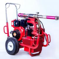Buy cheap Diesel Engine Electric Paint Sprayer Airless Sprayer Piston Pump 250 Bar 13.5 Lpm product