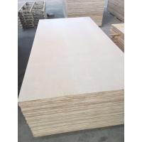 Buy cheap 1220*2440mm Cabinet grade White Birch Plywood , Poplar/Eucalyptus Core product
