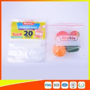 Buy cheap Biodegradable Freezer ZipLock Plastic Bags For Supermarket / Household product