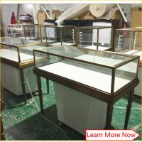 Buy cheap Modern luxury jewelery showcase display cabinet,jewelery counters,led light cabinet jewelery showcase product