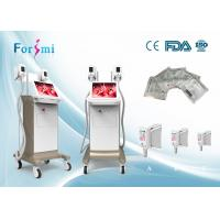 Buy cheap Fat removal cellulite machine 2 cryo handles working together 1800w power 15 inch touch screen product