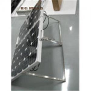 China Portable Solar Panel Kit 100W Monocrystalline on sale