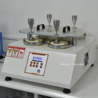 Buy cheap ISO12945-2 Abrasion Testing Equipment Fabric Martindale Abrasion Resistance Pilling Tester product