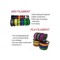 Buy cheap 1.75mm / 2.85mm HIPS / ABS / PLA / HIPS 3D Filament for 3D Printer from wholesalers