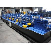 Buy cheap Galvanized Steel C Z Purlin Roll Forming Machine 1.5 - 3.0mm Feeding Thickness product