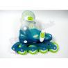 China  Multi Color Combination Inline Roller Skates , Adjustable Outdoor Roller Skate Shoes for Kids  for sale