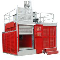 Buy cheap Industrial Passenger Construction Material Hoist Elevator 2 Ton 0 ~ 60m/min product