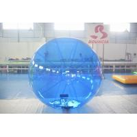 Quality Blue Color Inflatable Water Walking Ball With 0.8m PVC Material for sale