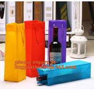 Buy cheap Ribbon Handle eco friendly Plastic PP Package Bag for Flowers Bouquet,Semitransparent PVC Plastic Tote Bag Environmental product