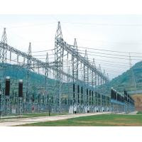 Buy cheap Electric Steel Framed Structures , Distribution Substation Equipment Power Transmission Line product