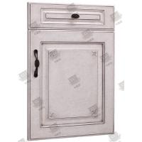 Buy cheap Moistureproof White Wooden Moulded Doors With Lock , Handle And Hinges product