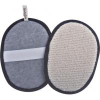 Buy cheap Durable For Hotel, Spa Massage Bath Body Scrubber Pad , Bamboofiber product