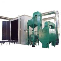 Buy cheap Automatic Recycling Sand Blaster Machine Customized Design Large Structure product