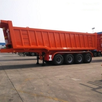 China 33CBM Tipper Semi Trailer on sale