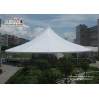 Buy cheap Waterproof White Color High Peak Tents / Wedding Reception Tent For Outdoor Event Party product
