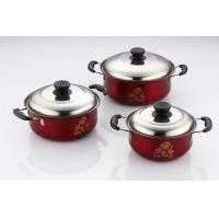 Buy cheap Durable Kitchen Cookware Sets Ss410 # 0.5mm Thickness Strong And Immune To Rust product