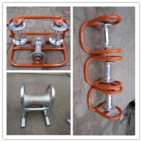 Buy cheap HEAVY DUTY ROLLERS,BRIDGE ROLLERS,Straight line cable roller product