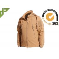 Buy cheap Khaki Military Tactical Jackets Polyester Soft Shell Waterproof for Women / Men product